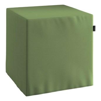 Pufa kostka, Forest Green (zielony), 40 × 40 × 40 cm, Cotton Panama