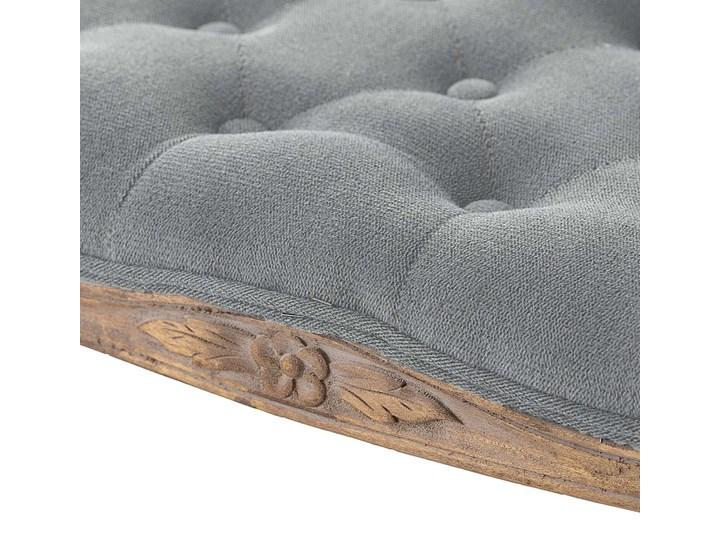 Ławka  Isacco 114x38x46cm grey, 114 × 38 × 46 cm Pomieszczenie Przedpokój Pikowana Materiał nóżek Drewno