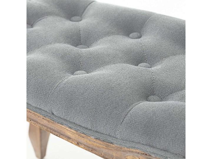 Ławka  Isacco 114x38x46cm grey, 114 × 38 × 46 cm Kategoria Ławki do salonu Pikowana Pomieszczenie Salon