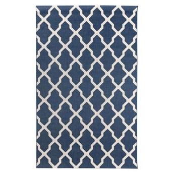 Dywan Cottage blue/ wool 160x230cm, 160 × 230 cm