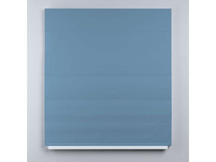 Roleta rzymska Duo, niebieski, szer.130 × dł.170 cm, Blackout - zaciemniające Roleta woalowa Pomieszczenie Salon