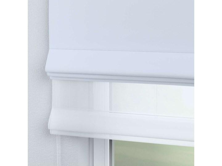 Roleta rzymska Duo, szaro-biały, szer.130 × dł.170 cm, Blackout - zaciemniające Roleta woalowa Typ Roleta transparentna Pomieszczenie Pokój nastolatka