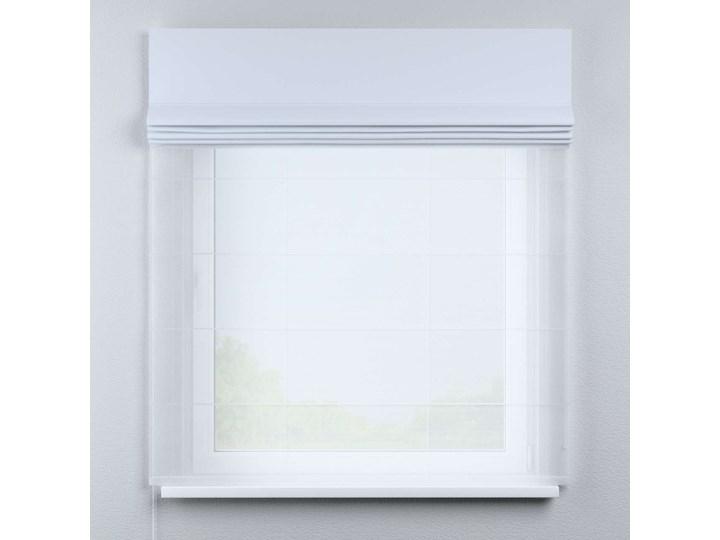 Roleta rzymska Duo, szaro-biały, szer.130 × dł.170 cm, Blackout - zaciemniające Roleta woalowa Pomieszczenie Biuro i pracownia