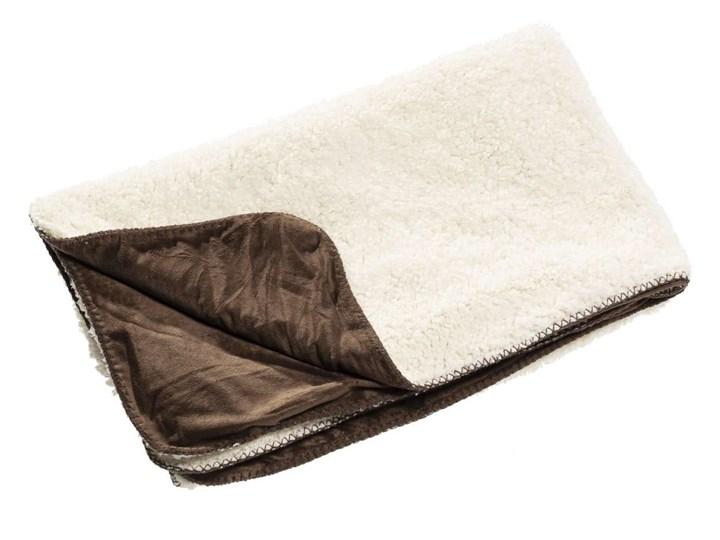 Pled Wolle brown 130x160cm, 130×160cm 130x170 cm 130x160 cm Wełna Bawełna Poliester Pomieszczenie Salon
