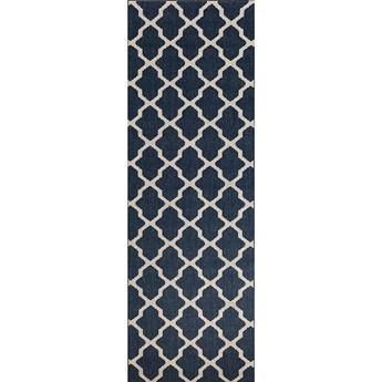 Dywan Cottage blue/wool 60x180cm, 60×180cm