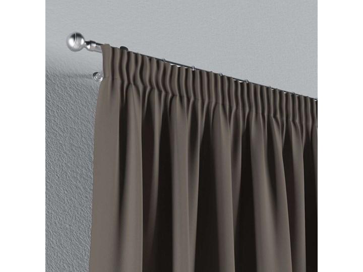 Zasłona zaciemniająca na taśmie 1 szt., szaro-brązowy, 1szt 140 × 260 cm, Blackout - zaciemniające Zasłona prześwitująca Poliester 140x260 cm Kategoria Zasłony Pomieszczenie Salon