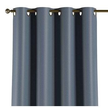 Zasłona zaciemniająca na kółkach 1 szt., ciemny niebieski o wyraźnej strukturze, 1szt 140 × 260 cm, Blackout - zaciemniające