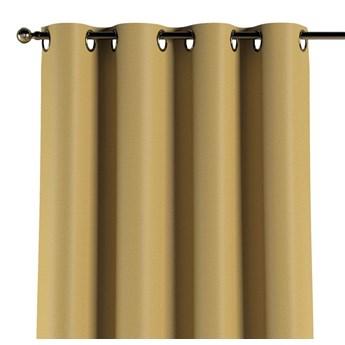 Zasłona zaciemniająca na kółkach 1 szt., musztardowy żółty o wyraźnej strukturze, 1szt 140 × 260 cm, Blackout - zaciemniające