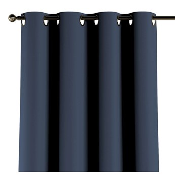 Zasłona zaciemniająca na kółkach 1 szt., granatowy, 1szt 140 × 260 cm, Blackout - zaciemniające