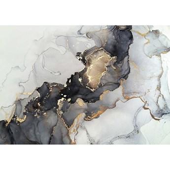 Obraz na płótnie Black&Gold Abstraction, 100 x 70 cm