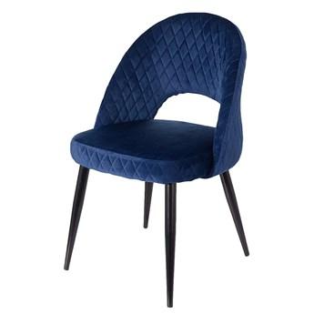 Krzesło Umberto Navy, 57 x 55 x 88 cm