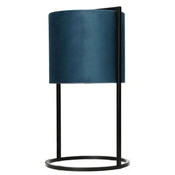 Lampa stołowa Santos Blue, 45 cm