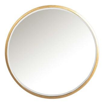 Lustro Vento Gold 80cm, ⌀80 cm