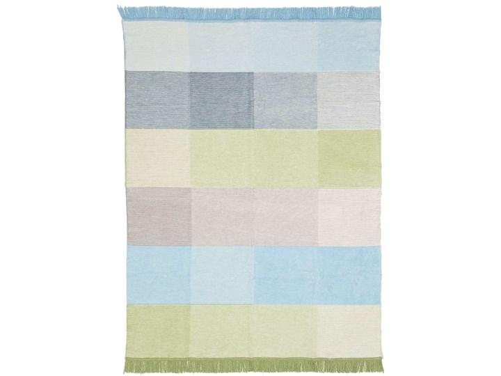 Koc Cotton Cloud 150x200cm Pastel Green&Blue, 150 x 200 cm 150x200 cm Bawełna Akryl Kolor Wielokolorowy