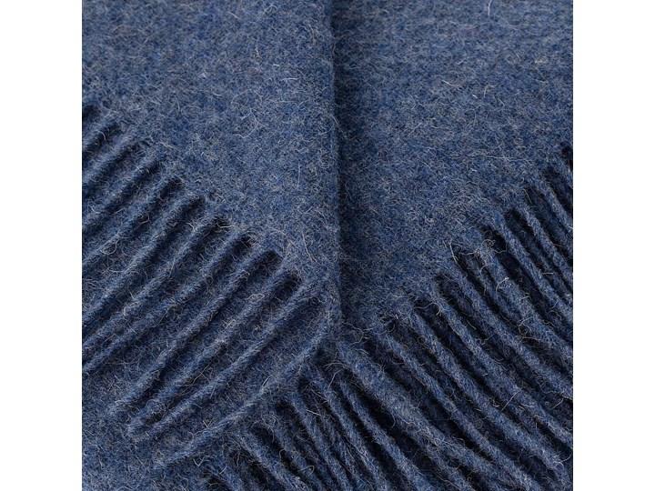 Pled Zelandia 140x200 melange blue, 140 x 200 cm 130x180 cm Wełna 140x200 cm Pomieszczenie Salon