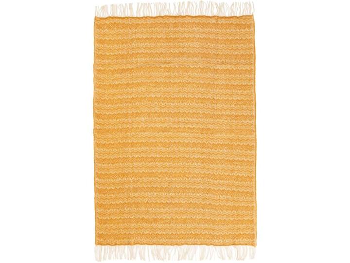 Pled Zelandia 130x190 yellow, 130x190cm Wełna 130x170 cm 130x190 cm Kategoria Koce i pledy