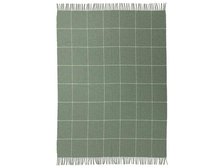 Pled Zelandia 140x200cm smoke green, 140 x 200 cm Pomieszczenie Sypialnia 140x200 cm Wełna Pomieszczenie Salon