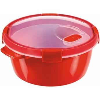 Pojemnik plastikowy CURVER Microwave Steamer 1.6 L Czerwony