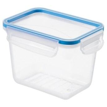 Pojemnik plastikowy ROTHO Clic & Lock 1162406602 1 L Niebieski