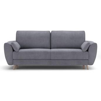 Sofa AQUA 3-osobowa, rozkładana    SZARY   Salony Agata
