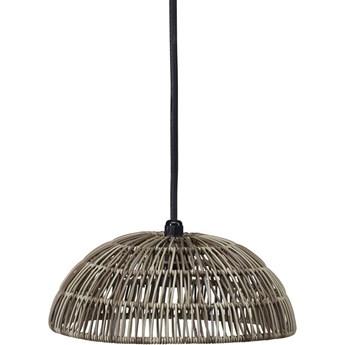 Rattanowa lampa wisząca Hue naturalna 30cm