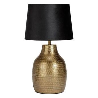Lampa stojąca Humphrey mosiądz z abażurem