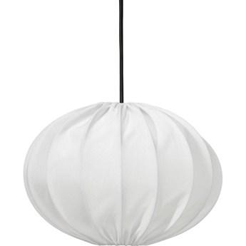 Lampa wisząca ogrodowa kula Hilma biała outdoor