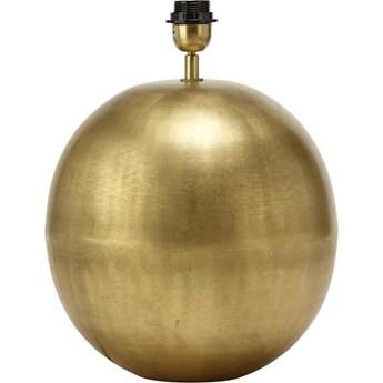 Mała lampa stołowa Globe kula złota (podstawa)