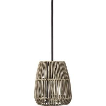 Mała rattanowa lampa wisząca Sajgon
