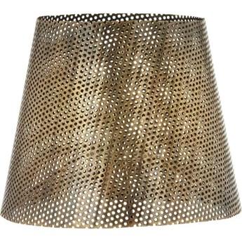 Metalowy ażurowy abażur Mia Halad mosiądz