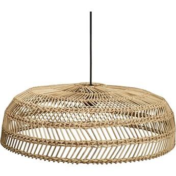 Rattanowa lampa wisząca Denise naturalna 53cm