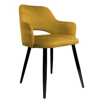 Yellow upholstered STAR chair material MG-15