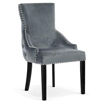 Krzesło EDWARD szary/ noga czarna/ BL14