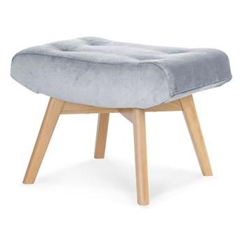 footstool ANGEL light gray PA05