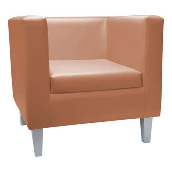 Alder armchair BACARDI upholstered with eco-leather