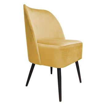 Yellow HERKULES chair upholstered, MG-15 material