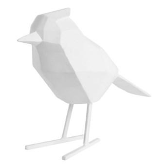 Biała figurka dekoracyjna w kształcie ptaszka PT LIVING Bird Large Statue