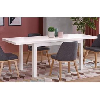 Minimalistyczny stół rozkładany Selen 2X - biały