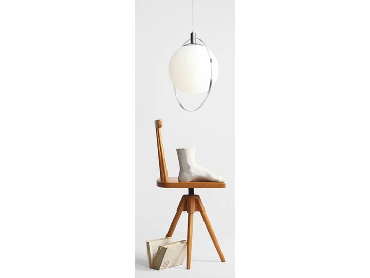 Designerska lampa wisząca Bersi Złoty Metal Lampa LED Szkło Ilość źródeł światła 1 źródło
