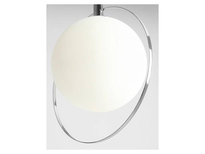 Designerska lampa wisząca Bersi Złoty Metal Lampa LED Szkło Ilość źródeł światła 1 źródło Kategoria Lampy wiszące