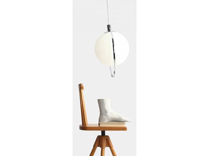 Designerska lampa wisząca Bersi Złoty Szkło Kolor Biały Lampa LED Metal Ilość źródeł światła 1 źródło