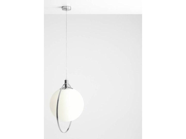 Designerska lampa wisząca Bersi Złoty Metal Lampa LED Kolor Biały Szkło Ilość źródeł światła 1 źródło