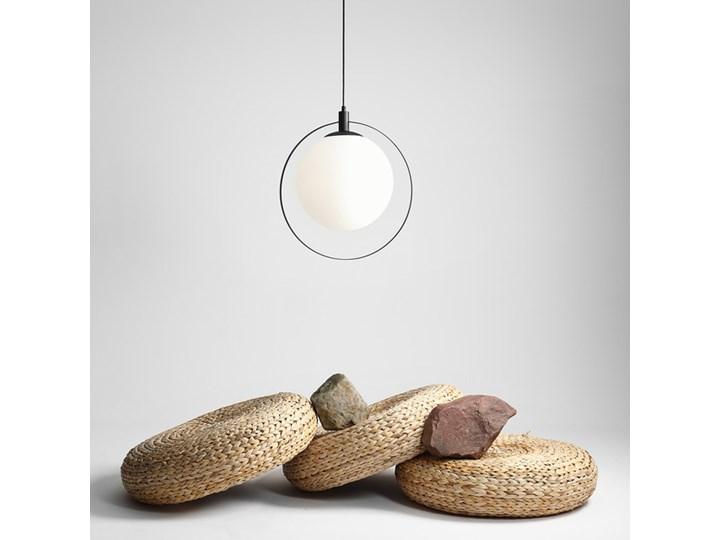 Designerska lampa wisząca Bersi Złoty Metal Szkło Lampa LED Kategoria Lampy wiszące