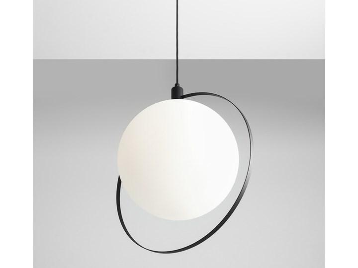 Designerska lampa wisząca Bersi Złoty Lampa LED Szkło Metal Kolor Biały Ilość źródeł światła 1 źródło