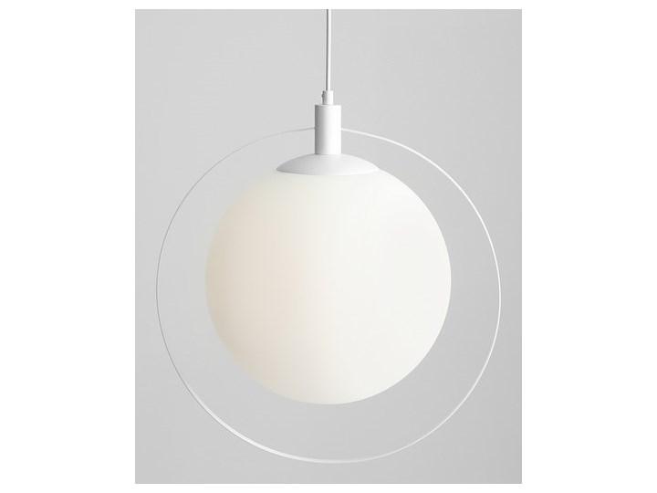 Designerska lampa wisząca Bersi Złoty Szkło Metal Lampa LED Ilość źródeł światła 1 źródło