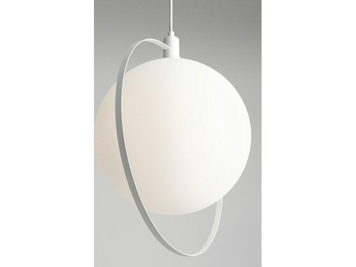 Designerska lampa wisząca Bersi Złoty Metal Kategoria Lampy wiszące Szkło Lampa LED Ilość źródeł światła 1 źródło