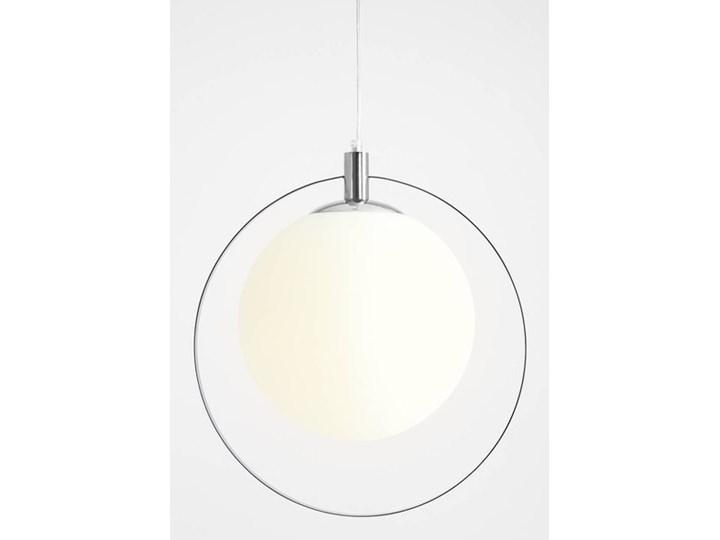 Designerska lampa wisząca Bersi Złoty Metal Szkło Kolor Biały Lampa LED Kategoria Lampy wiszące