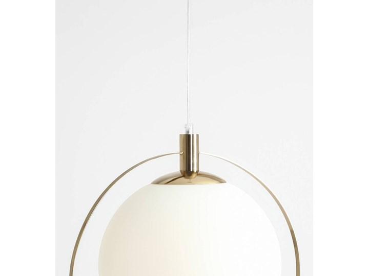 Designerska lampa wisząca Bersi Złoty Szkło Metal Kategoria Lampy wiszące Lampa LED Kolor Biały