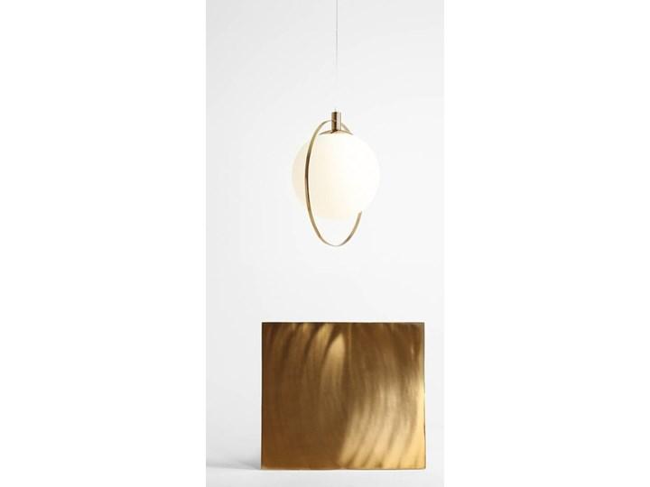 Designerska lampa wisząca Bersi Złoty Szkło Lampa LED Metal Ilość źródeł światła 1 źródło