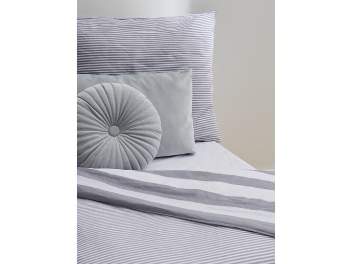 Sinsay - Komplet pościeli z bawełny 160x200 - Jasny szary 160x200 cm Bawełna Kategoria Komplety pościeli